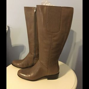 NIB Corso Como taupe leather boots PRICE DROP