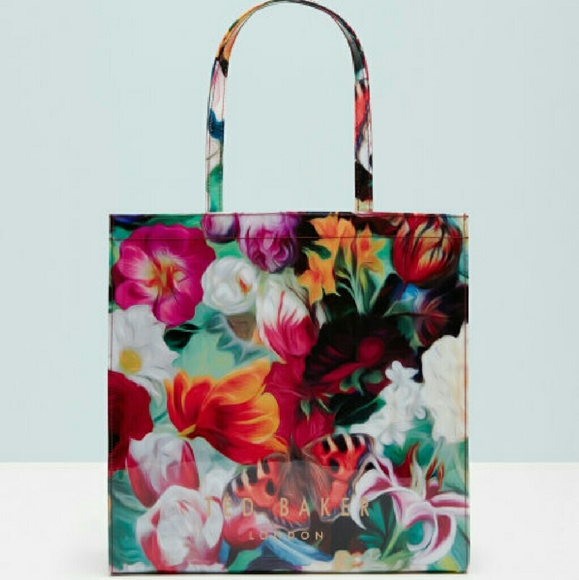 988baf085a031 New Ted Baker London Floral Swirl Large Icon Bag