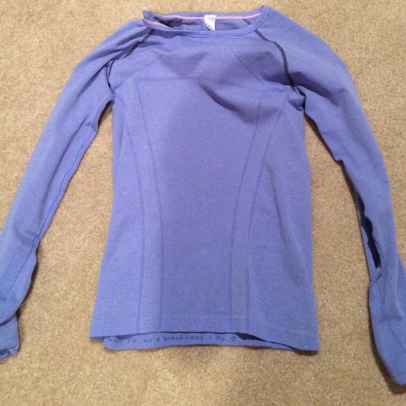 b5fec7a61 Ivivva Shirts & Tops | Blue Long Sleeve Shirt | Poshmark