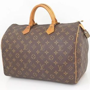  AUTHENTIC LOUIS VUITTON SPEEDY 35 PRE-LOVED