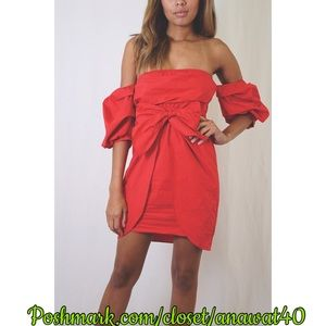 Tea n Cup Dresses & Skirts - A Lil Poppin Red Dress