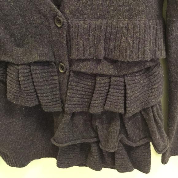 75% off Anthropologie Sweaters - Anthropologie Moth Purple Wool ...
