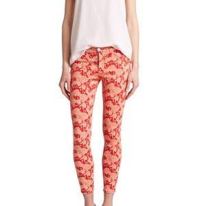 Hudson Jeans Denim - LAST 1 🎉HUDSON Red Nico Skinny Jean NWT