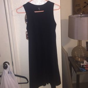 Mossimo black asymmetrical hem dress