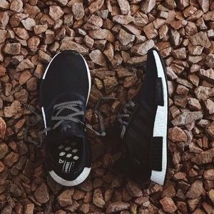 Adidas NMD R1 Black Reflective Pack Sneakers