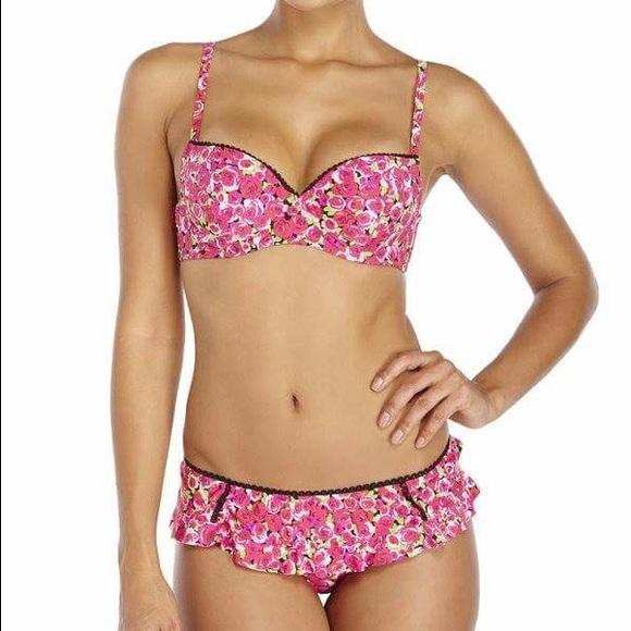 c49d8e2f9b Betsey Johnson Other - ✨SALE Betsey Johnson True Romance Pink Bikini