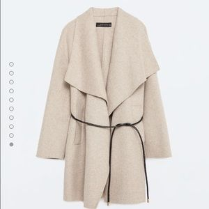 ❤️HOST PICKZara Woman Handmade waterfall coat