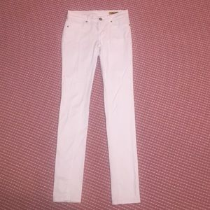 Blank Denim Denim - Blank NYC Mid-Rise Denim Skinny Jeans in White