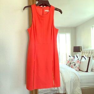 Trina Turk Dresses & Skirts - Trina Turk- bright dress. gold zipper detailing