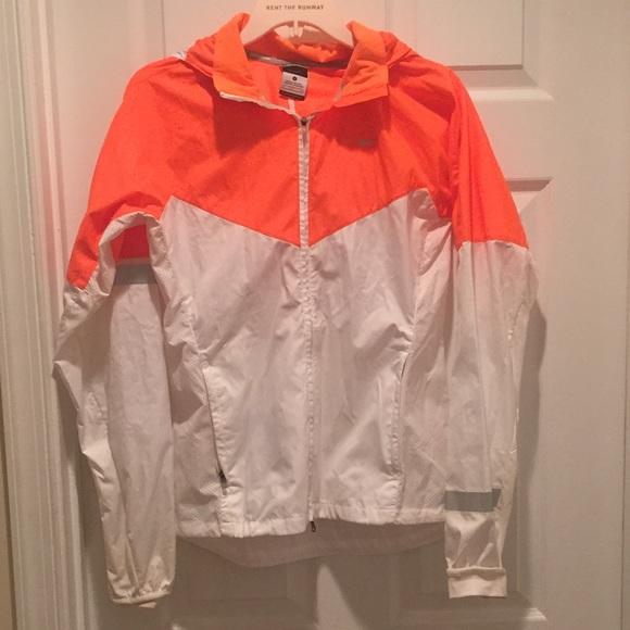 White Nike Running Rain Jacket | Poshmark