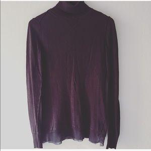 Simply Vera by Vera Wong knited sweater purple.