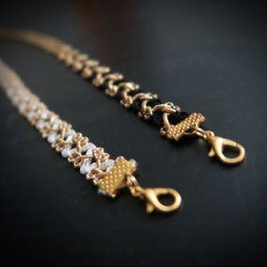 Jewelry - Black & Gold Choker
