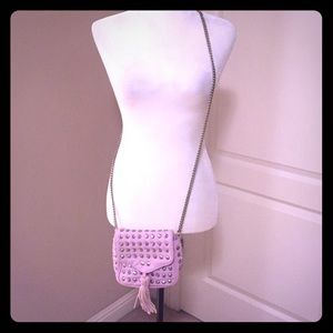 Studded lavender cross body