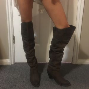 jeffery campbell Shoes - over the knee leather boots
