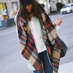 Accessories - 💙HOST PICK 9/11/16 Oversized blanket scarf 💙