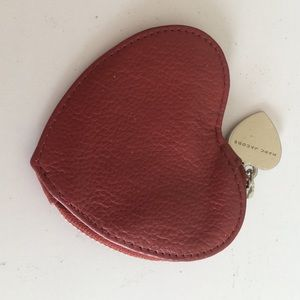 Marc Jacobs Accessories - Marc Jacobs coin purse red leather wallet mini