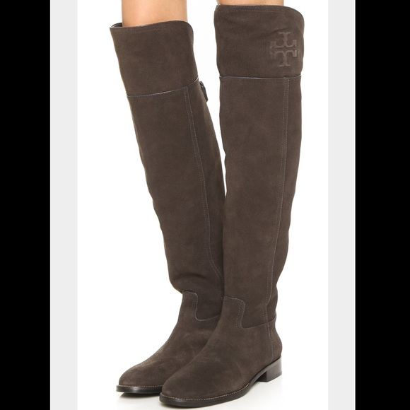 15aea617f593 Authentic Tory Burch Simone Over the Knee Boots 8