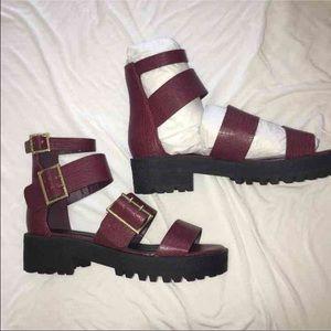 Asos brand platform sandal
