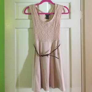 Off pink flowy dress