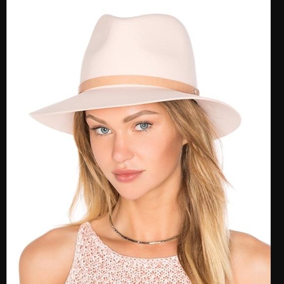 ae35efffea3da NEW Rag   Bone Floppy Brim Fedora Hat Lt Pink. M 57c5985d3c6f9fd7b400272d