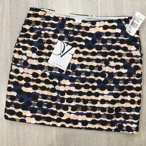 Diane vonFurstenberg Racing Tweed skirt