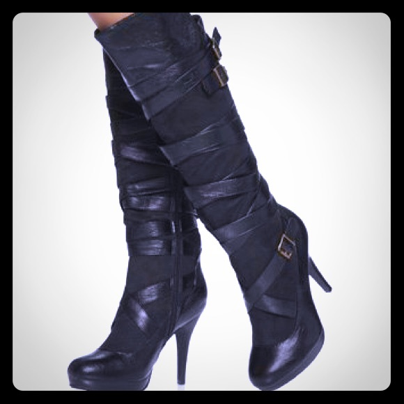 57 justfab shoes justfab knee high boots