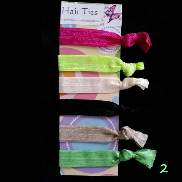 3  16 Creaseless Hair Ties ( 2) 26efda62c01