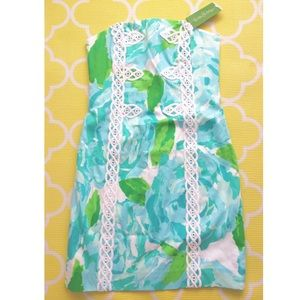 Lilly Pulitzer Dresses & Skirts - Lilly Pulitzer Tansy Shift Dress in Poolside Blue