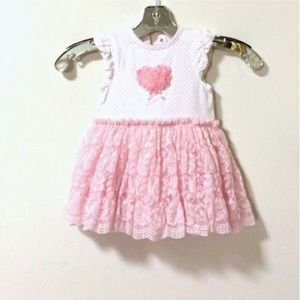Little Me Other - Baby girl 18 months lace tulle dress