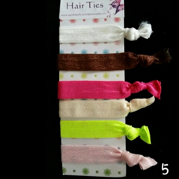 3  16 Creaseless Hair Ties (set  5) 7256464c9d8