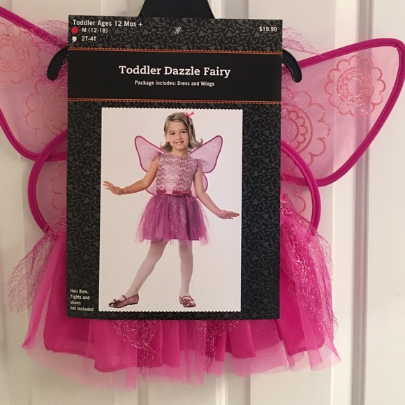 NWT-Toddler Girls Dazzle Fairy Halloween Costume  sc 1 st  Poshmark : toddler girl fairy halloween costumes  - Germanpascual.Com