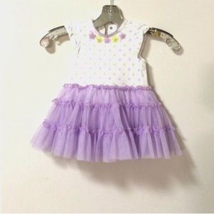 Little Me Other - Baby girl 18 months purple tulle dress