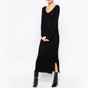 ASOS Knit Sweater Maxi Dress