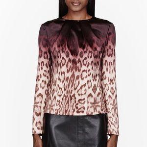 J Brand Ombré Leopard Print Blouse