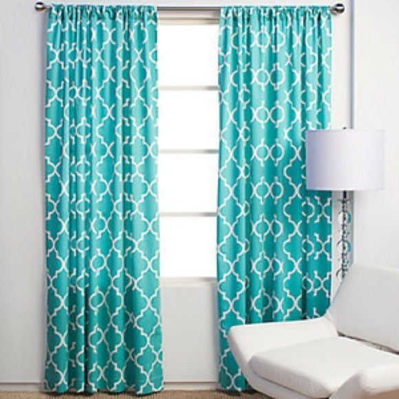 86% off anthropologie other - z gallerie mimosa panel curtain from