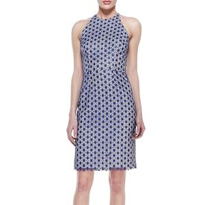 *NWT*  Korovilas Laser-cut Faux-Leather Dress