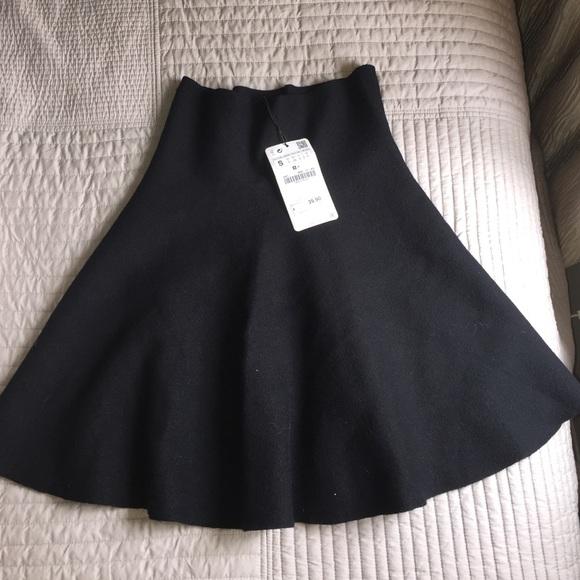 33% off Zara Dresses & Skirts - Zara high waisted knit skirt from ...