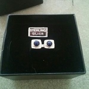 Jewelry - 925 SS ring with Lapiz Lazuli stones.