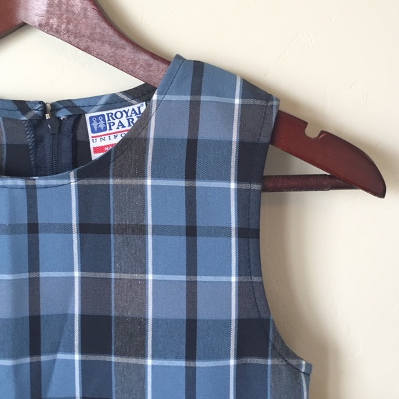 47812807bd3 NWT Plaid School Uniform Jumper Dress w/Kick Pleat NWT