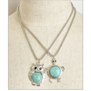✂️✂️🆕Owl or turtle necklace
