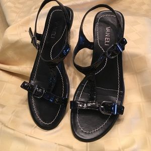 Vaneli Shoes - Van Eli mic croc patent strappy sandal