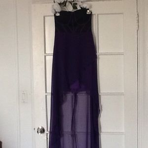 Dresses & Skirts - Adorable High Low NWOT Dress Petite L