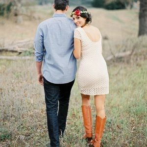 Free People gypsy lace dress