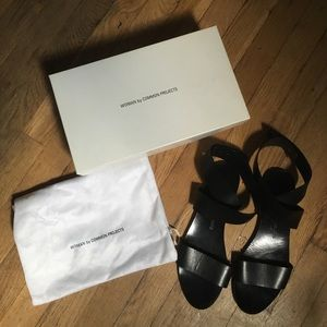 Common Projects Cross Strap Sandal
