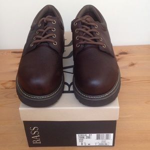 Bass Other - REDUCED MEN's Bass Brown Leather Casual Size 8.5