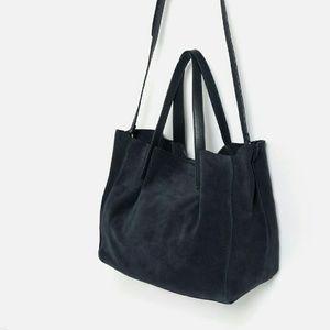 Zara leather totes  (4650)