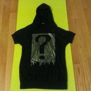 EuroModa black hoodie