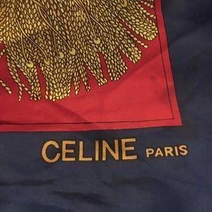 Celine Accessories   Scarf Vintage   Poshmark e7e366bc341