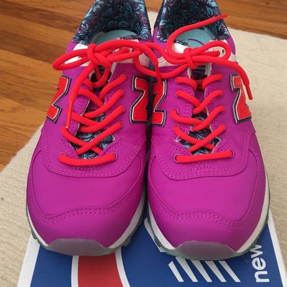 New Balance Shoes - New Balance 574 Luau Running Shoes