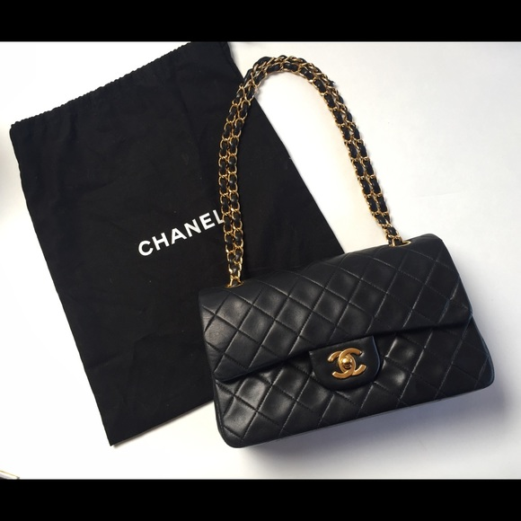 fc93dbd1bf0 CHANEL Bags   Authentic Vintage Classic Flap Bag With Ghw   Poshmark